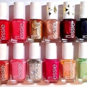 12 ESSIE NAIL POLISH LOT NO REPEATS NEW FULL SIZE!